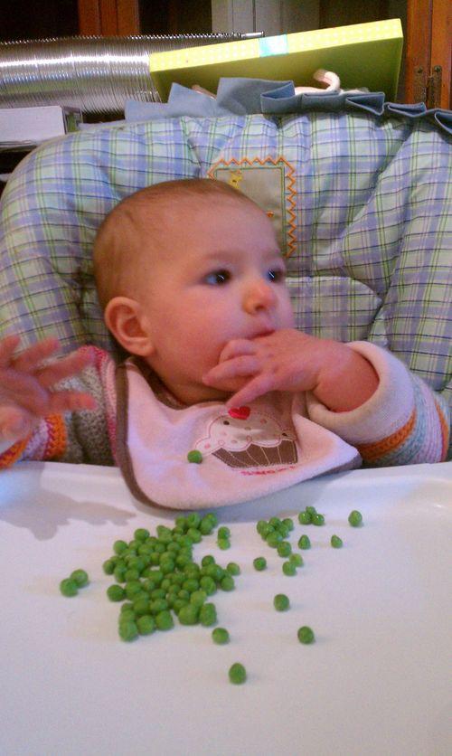11 Months Peas 2
